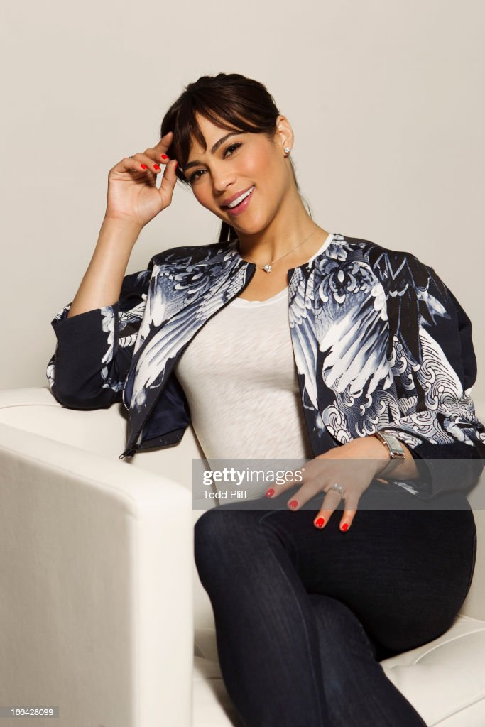 Actress Paula Patton is photographed for USA Today on April 9, 2013 in New York City.