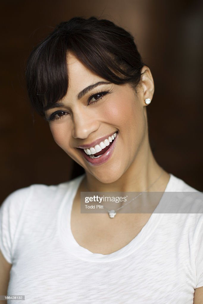 Actress Paula Patton is photographed for USA Today on April 9, 2013 in New York City. PUBLISHED IMAGE.