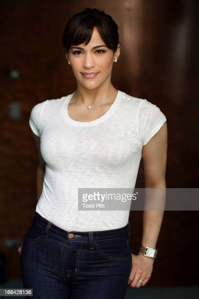 Actress Paula Patton is photographed for USA Today on April 9 2013 in New York City PUBLISHED IMAGE