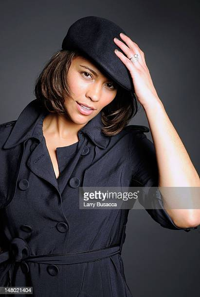 Actress Paula Patton poses at the Hollywood Life House on January 18 2009 in Park City Utah