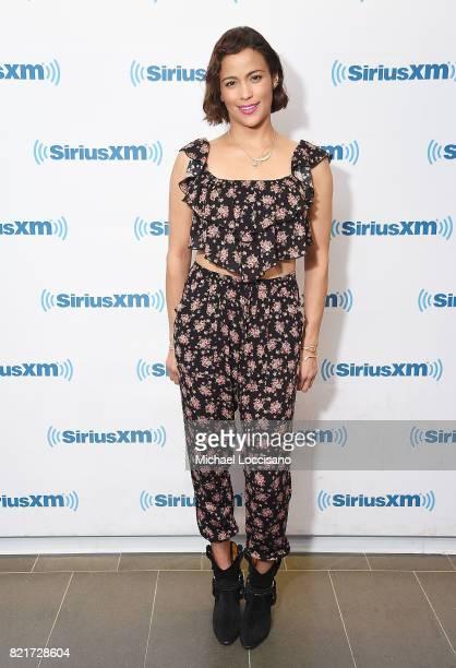 Actress Paula Patton visits SiriusXM Studios on July 24 2017 in New York City