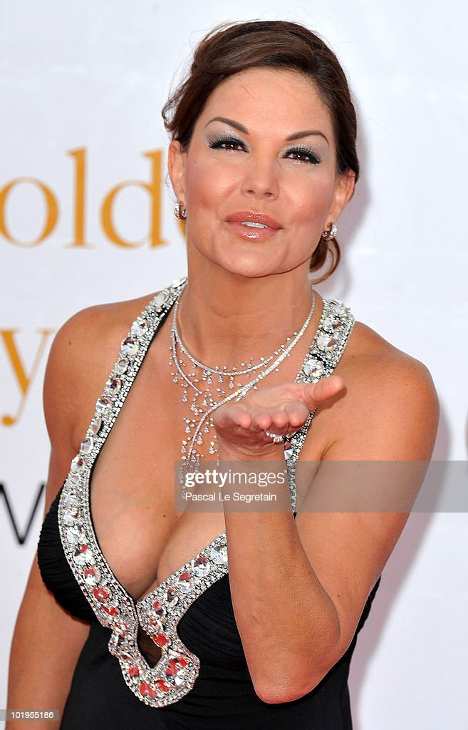 Actress Paula Trickey arrives at the Closing Ceremony of the 2010 Monte Carlo Television Festival held at Grimaldi Forum on June 10 2010 in...