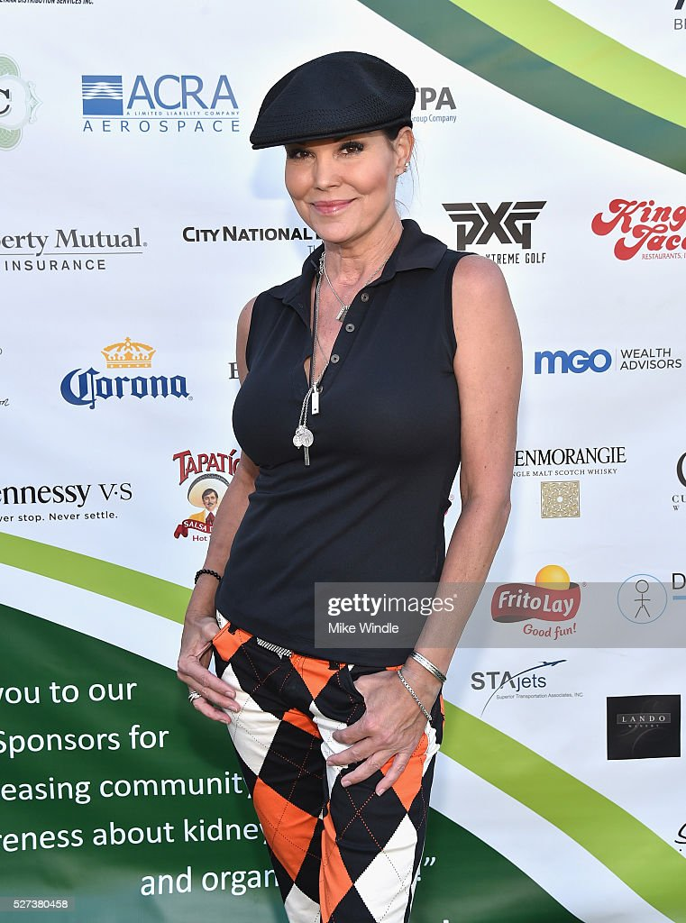 Actress Paula Trickey attended the 9th Annual George Lopez Celebrity Golf Classic to benefit The George Lopez Foundation on Monday May 2nd at the...