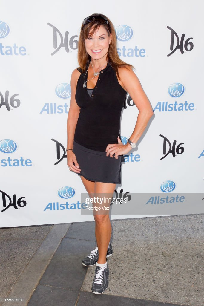 Actress Paula Trickey attends the 2nd Annual Dennis Haysbert Humanitarian Foundation Celebrity Golf Classic at Lakeside Golf Club on August 26 2013...