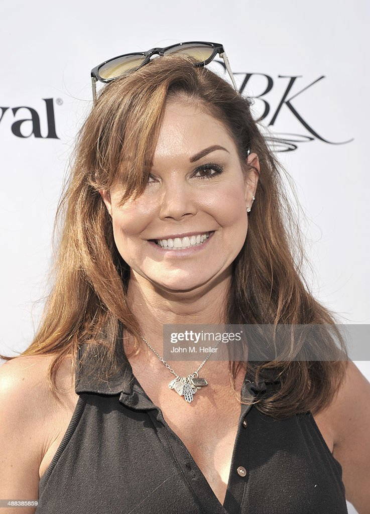Actress Paula Trickey attends the 7th Annual George Lopez Celebrity Golf Classic at Lakeside Golf Club on May 5 2014 in Burbank California