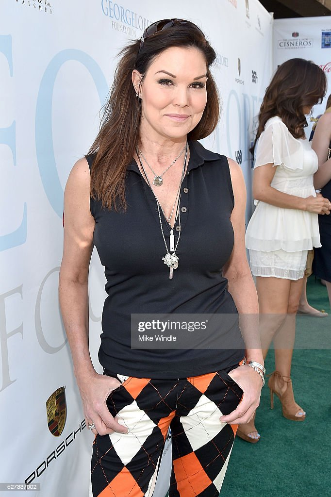 Actress Paula Trickey attends the 9th Annual George Lopez Celebrity Golf Classic to benefit The George Lopez Foundation at Lakeside Golf Club on May 2, 2016 in Burbank, California.