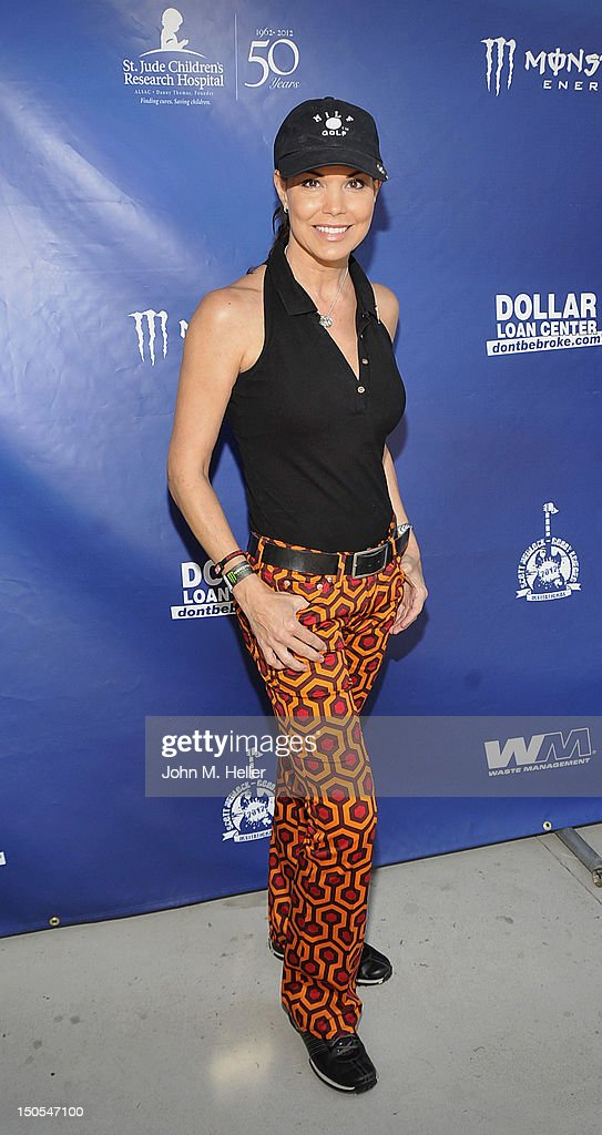 Actress Paula Trickey attends the Scott MedlockRobby Krieger Invitational Golf Classic to benefit St Judes Children's Hospital at Moorpark Country...