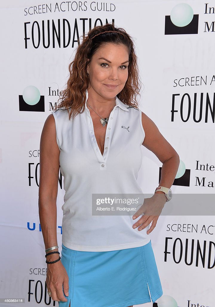 Actress Paula Trickey attends the Screen Actor's Guild Foundation's 5th Annual 'Actors Fore Actors' Los Angeles Golf Classic at Lakeside Golf Club on...