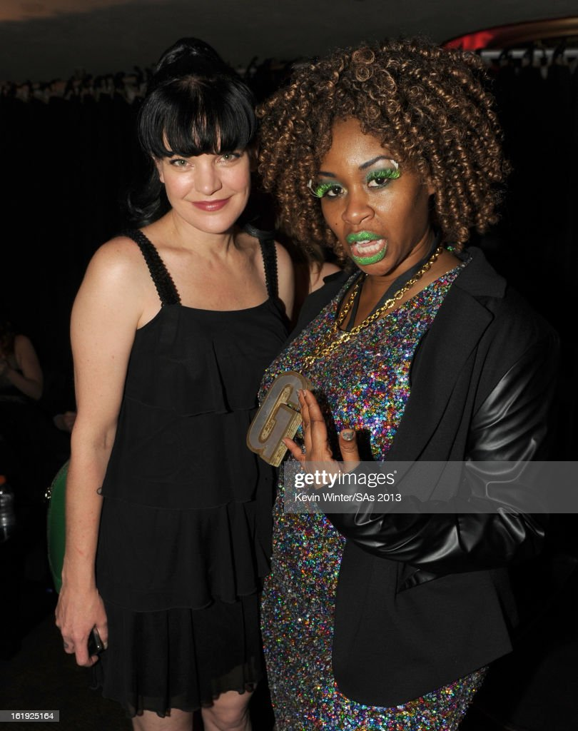Actress Pauley Perrette and comedian GloZell Green attend the 3rd Annual Streamy Awards at Hollywood Palladium on February 17, 2013 in Hollywood, California.