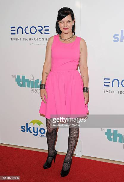 Actress Pauley Perrette arrives at the 5th Annual Thirst Gala at The Beverly Hilton Hotel on June 24 2014 in Beverly Hills California