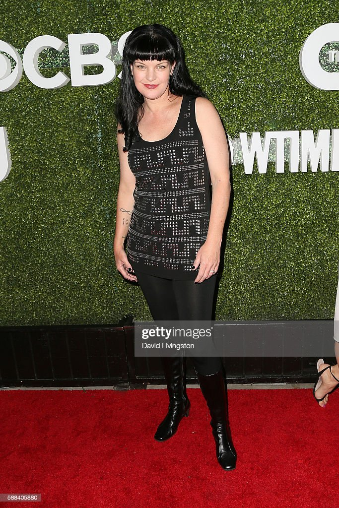 Actress Pauley Perrette arrives at the CBS, CW, Showtime Summer TCA Party at the Pacific Design Center on August 10, 2016 in West Hollywood, California.