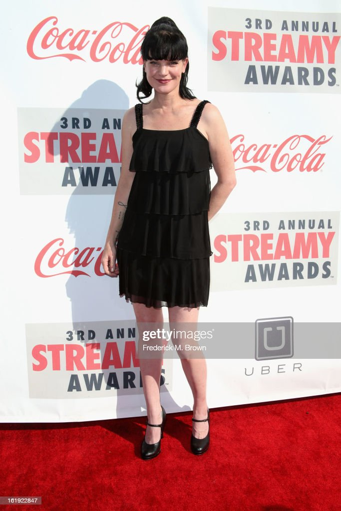 Actress Pauley Perrette attends the 3rd Annual Streamy Awards at Hollywood Palladium on February 17, 2013 in Hollywood, California.