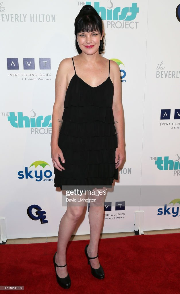 Actress <a gi-track='captionPersonalityLinkClicked' href=/galleries/search?phrase=Pauley+Perrette&family=editorial&specificpeople=625846 ng-click='$event.stopPropagation()'>Pauley Perrette</a> attends the 4th Annual Thirst Gala at The Beverly Hilton Hotel on June 25, 2013 in Beverly Hills, California.