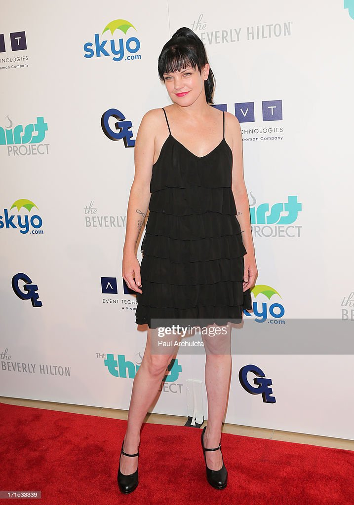 Actress Pauley Perrette attends the 4th annual Thirst Gala at The Beverly Hilton Hotel on June 25, 2013 in Beverly Hills, California.