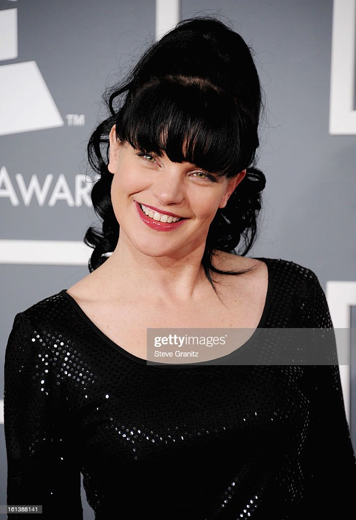 Actress Pauley Perrette attends the 55th Annual GRAMMY Awards at STAPLES Center on February 10, 2013 in Los Angeles, California.