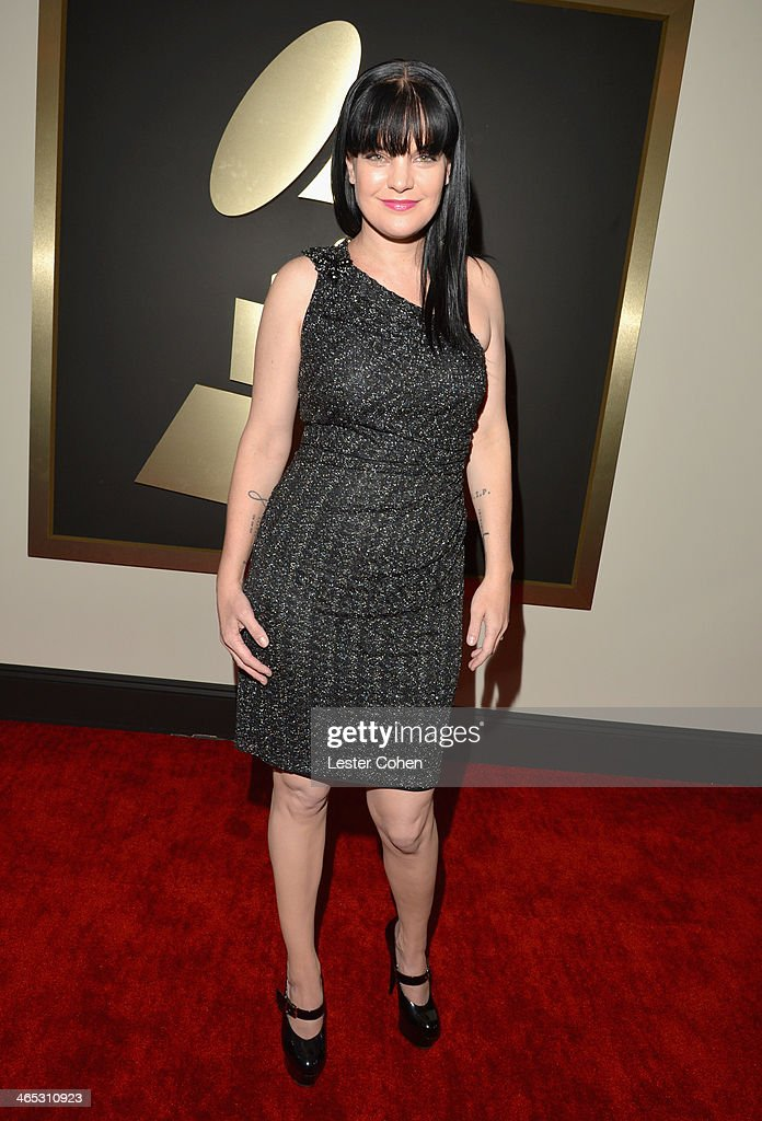 Actress Pauley Perrette attends the 56th GRAMMY Awards at Staples Center on January 26, 2014 in Los Angeles, California.