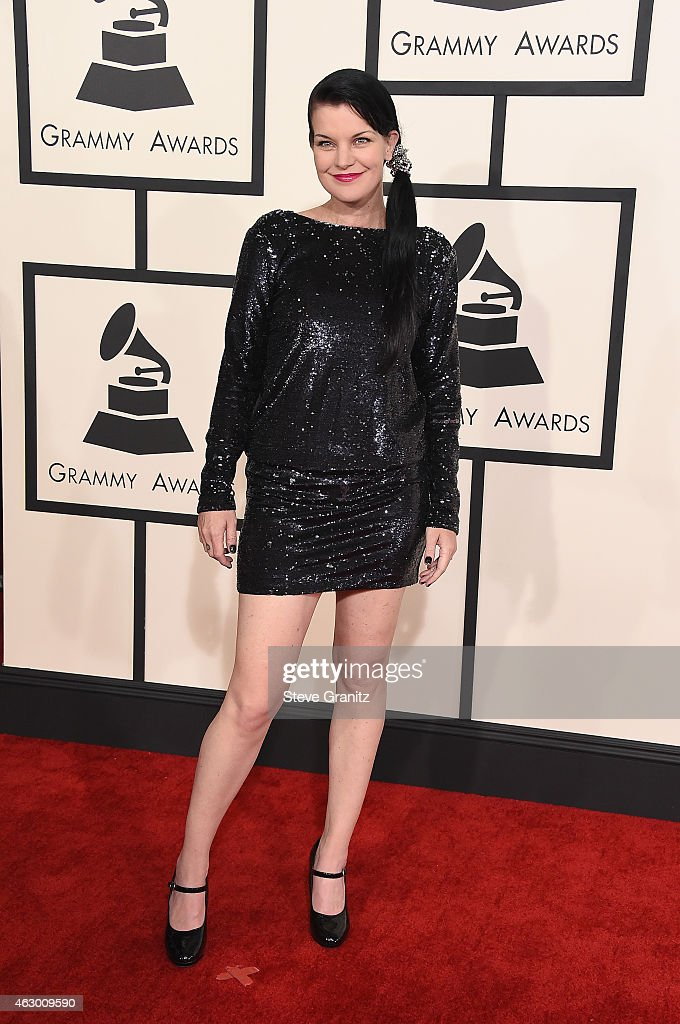 Actress <a gi-track='captionPersonalityLinkClicked' href=/galleries/search?phrase=Pauley+Perrette&family=editorial&specificpeople=625846 ng-click='$event.stopPropagation()'>Pauley Perrette</a> attends The 57th Annual GRAMMY Awards at the STAPLES Center on February 8, 2015 in Los Angeles, California.