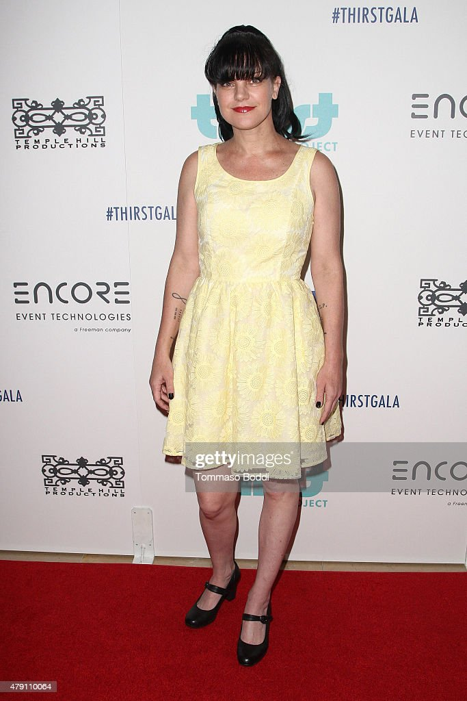 Actress <a gi-track='captionPersonalityLinkClicked' href=/galleries/search?phrase=Pauley+Perrette&family=editorial&specificpeople=625846 ng-click='$event.stopPropagation()'>Pauley Perrette</a> attends the 6th Annual Thirst Gala held at The Beverly Hilton Hotel on June 30, 2015 in Beverly Hills, California.