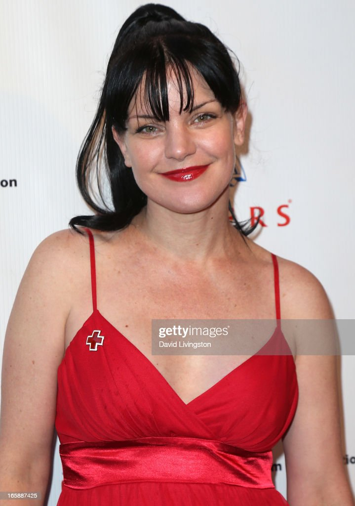 Actress Pauley Perrette attends the 7th Annual American Red Cross Red Tie Affair at the Fairmont Miramar Hotel on April 6, 2013 in Santa Monica, California.