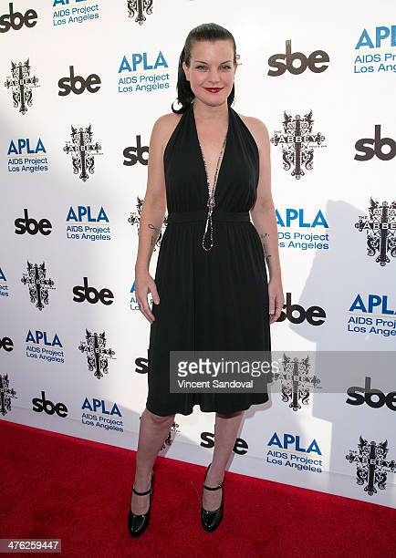 Actress Pauley Perrette attends The Abbey Hosts 13th Annual APLA Oscar viewing party The Envelope Please at The Abbey on March 2 2014 in West...