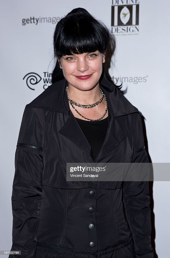 Actress Pauley Perrette attends the Divine Design 2012 Opening Rock 'n' Roll Party on November 29, 2012 in Beverly Hills, California.