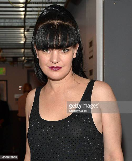Actress Pauley Perrette attends The GRAMMY Nominations Concert Live Countdown to Music's Biggest Night at Nokia Theatre LA Live on December 6 2013 in...