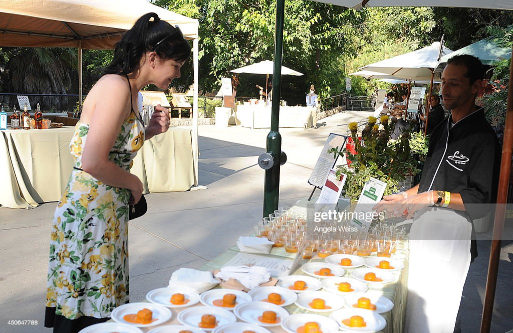 Actress <a gi-track='captionPersonalityLinkClicked' href=/galleries/search?phrase=Pauley+Perrette&family=editorial&specificpeople=625846 ng-click='$event.stopPropagation()'>Pauley Perrette</a> attends the Greater Los Angeles Zoo Association's (GLAZA) 44th Annual Beastly Ball at Los Angeles Zoo on June 14, 2014 in Los Angeles, California.