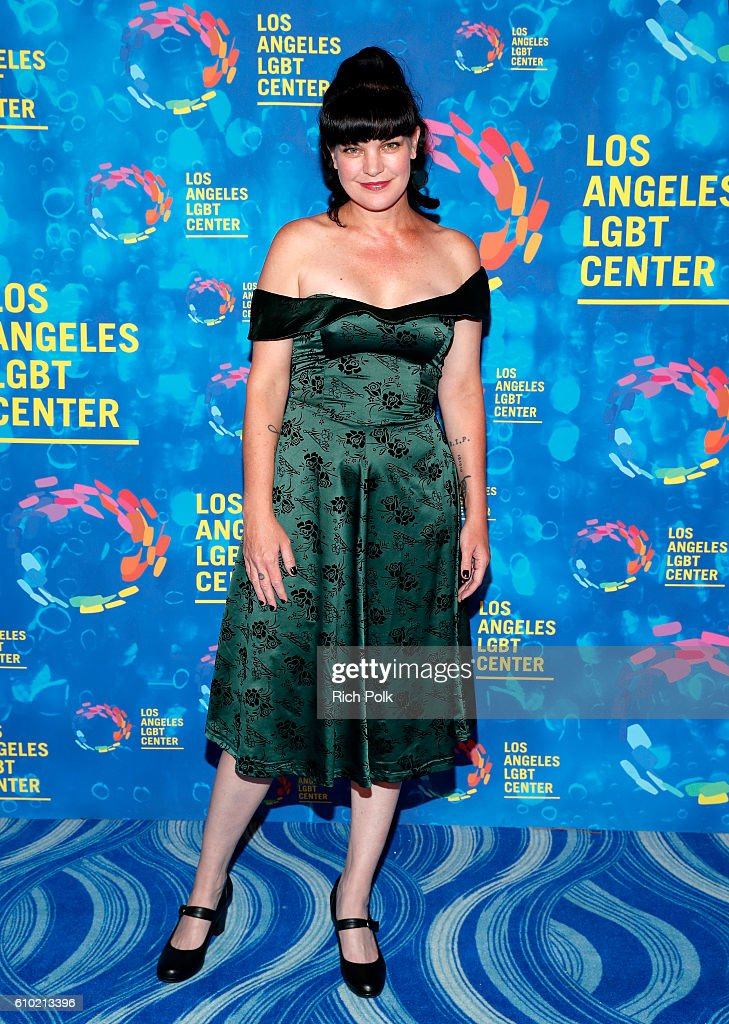 Actress Pauley Perrette attends the Los Angeles LGBT Center 47th Anniversary Gala Vanguard Awards at Pacific Design Center on September 24, 2016 in West Hollywood, California.