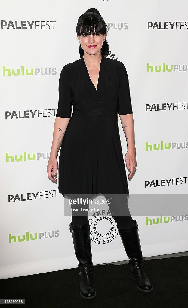 Actress Pauley Perrette attends The Paley Center For Media's PaleyFest 2013 honoring 'The Big Bang Theory' at the Saban Theatre on March 13, 2013 in Beverly Hills, California.