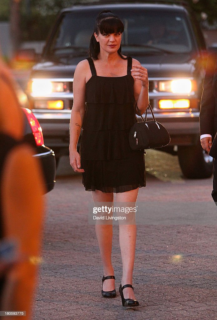 Actress <a gi-track='captionPersonalityLinkClicked' href=/galleries/search?phrase=Pauley+Perrette&family=editorial&specificpeople=625846 ng-click='$event.stopPropagation()'>Pauley Perrette</a> attends the Stuntmen's Association of Motion Pictures 52nd Annual Awards Dinner to benefit the Taurus World Stunt Awards Foundation at the Hilton Universal City on September 14, 2013 in Universal City, California.