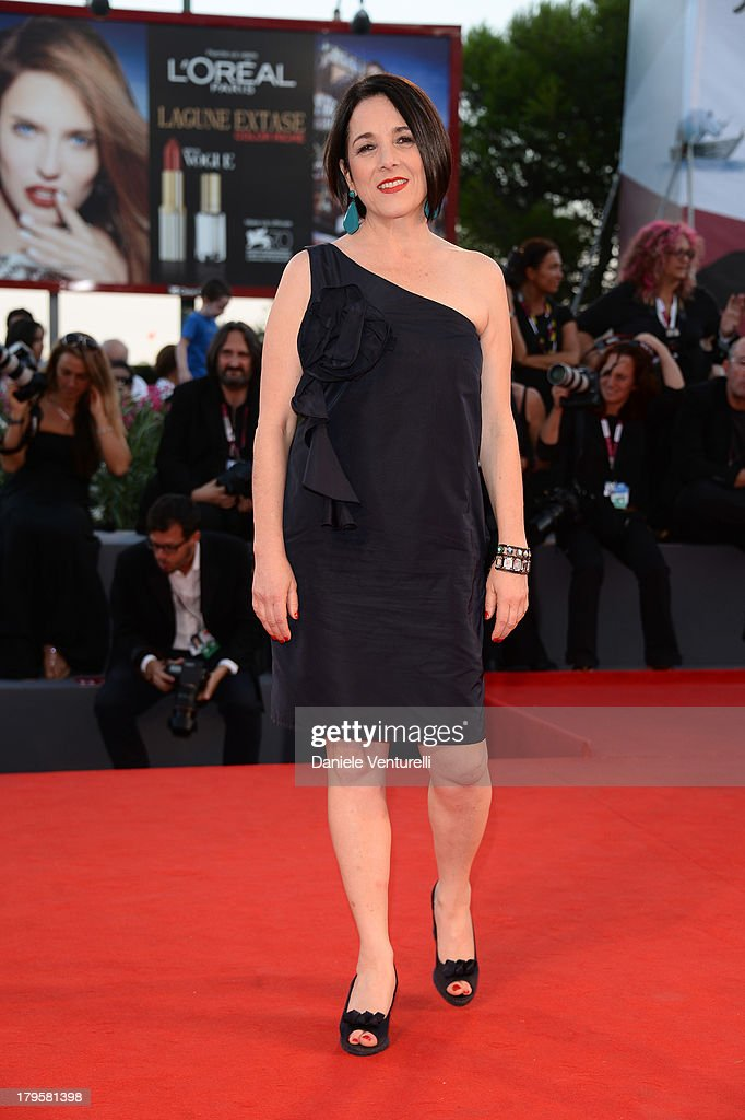 Actress Paulina García attends 'La Jalousie' Premiere during the 70th Venice International Film Festival at the Sala Grande on September 5, 2013 in Venice, Italy.