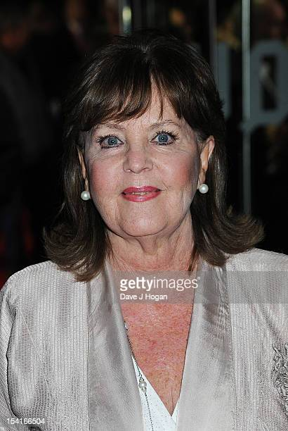 Actress Pauline Collins attends the premiere of 'Quartet' during the 56th BFI London Film Festival at Odeon Leicester Square on October 15 2012 in...