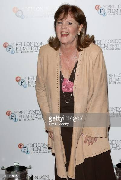 Actress Pauline Collins attends the 'Quartet' photocall during the BFI London Film Festival at the Empire Leicester Square on October 15 2012 in...