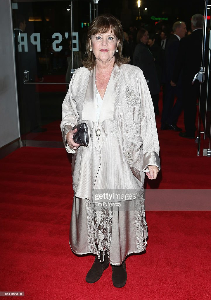 Actress Pauline Collins attends the 'Quartet' premiere during the 56th BFI London Film Festival at the Odeon Leicester Square on October 15, 2012 in London, England.