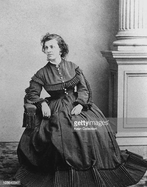 Actress Pauline Cushman who was also a spy for the Union Army during the American Civil War USA circa 1870 During the Civil War Cushman was captured...
