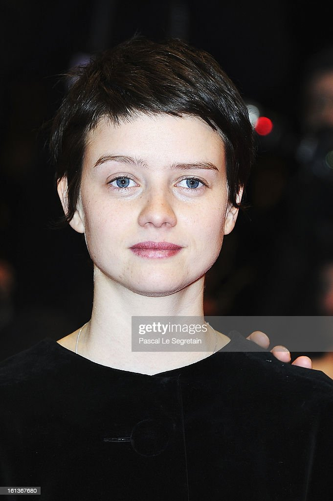 Actress <a gi-track='captionPersonalityLinkClicked' href=/galleries/search?phrase=Pauline+Etienne&family=editorial&specificpeople=6128830 ng-click='$event.stopPropagation()'>Pauline Etienne</a> attend 'The Nun' Premiere during the 63rd Berlinale International Film Festival at Berlinale Palast on February 10, 2013 in Berlin, Germany.