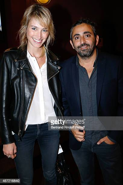 Actress Pauline Lefevre and director Eric Toledano attend the Samba Premiere to Benefit 'CekeDuBonheur' which celebrates its 10th anniversary Held at...