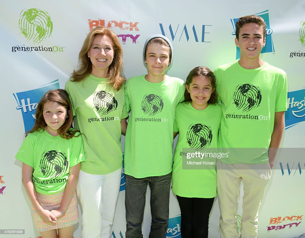 Actress Payden Kershner Founder of Children for Children Silda Wall and actors Corey Fogelmanis Emmy Perry and Chazz Nittolo attend the Points of...