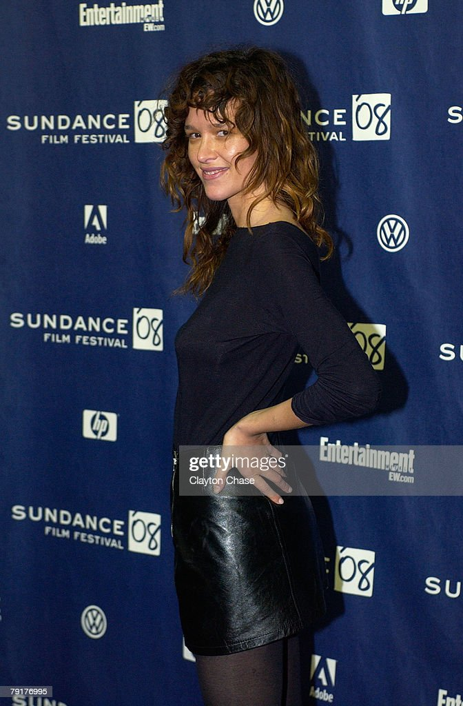 Actress Paz de la Huerta attends a screening of 'Choke' at the Racquet Club Theatre during 2008 Sundance Film Festival on January 21, 2008 in Park City, Utah.