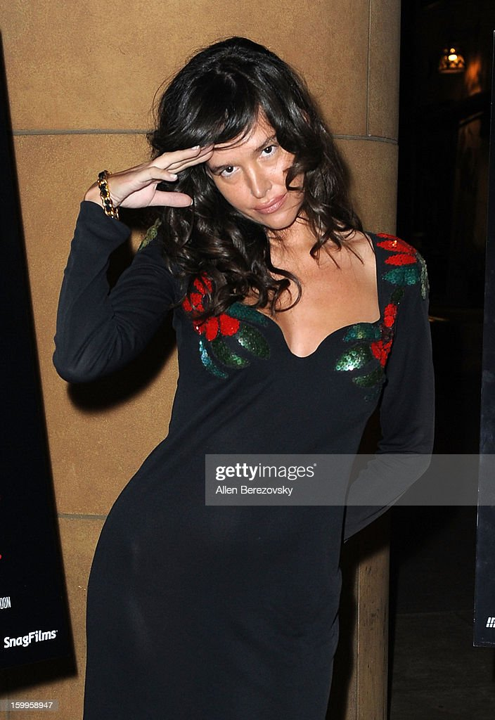 Actress <a gi-track='captionPersonalityLinkClicked' href=/galleries/search?phrase=Paz+de+la+Huerta&family=editorial&specificpeople=586012 ng-click='$event.stopPropagation()'>Paz de la Huerta</a> attends a special screening of 'Beware Of Mr. Baker' at the Egyptian Theatre on January 23, 2013 in Hollywood, California.