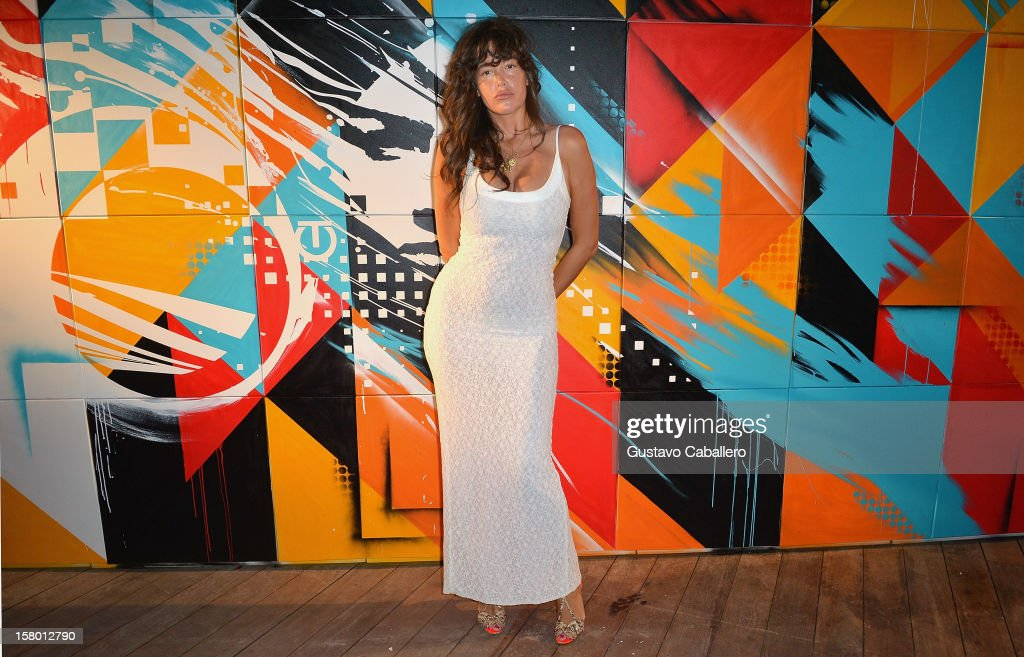 Actress Paz de la Huerta attends AD Oasis at The Raleigh on December 8, 2012 in Miami, Florida.