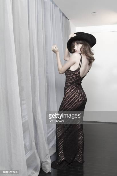 Actress Paz de la Huerta poses in New York City in November 2010 for the New York Times
