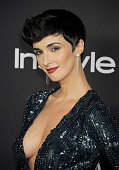 Actress Paz Vega arrives at the 16th Annual Warner Bros And InStyle PostGolden Globe Party at The Beverly Hilton Hotel on January 11 2015 in Beverly...
