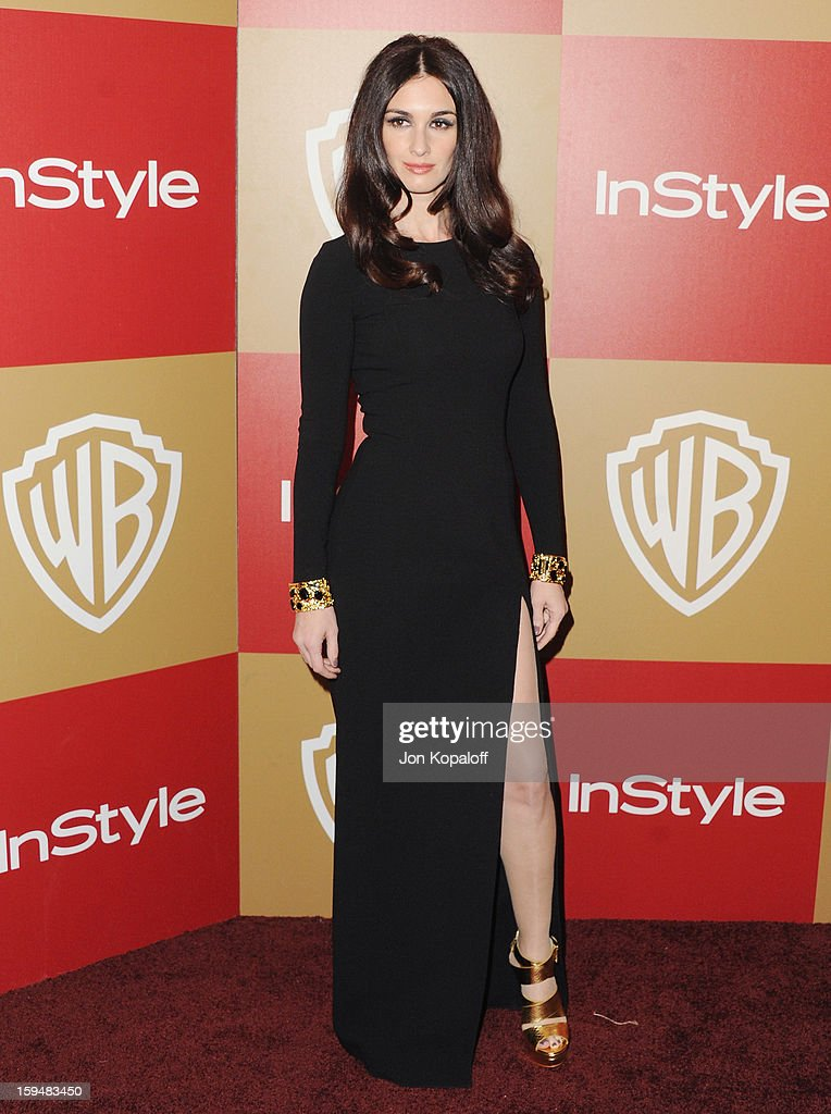 Actress Paz Vega arrives at the InStyle And Warner Bros. Golden Globe Party at The Beverly Hilton Hotel on January 13, 2013 in Beverly Hills, California.