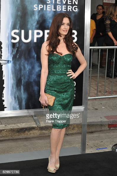 Actress Paz Vega arrives at the Premiere of Paramount Pictures' 'Super 8' held at the Regency Village Theater in Westwood