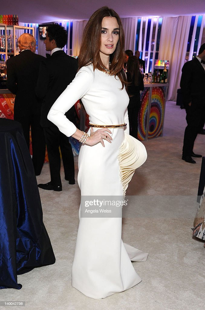 Actress Paz Vega attends CIROC Vodka at 20th Annual Elton John AIDS Foundation Academy Awards Viewing Party at The City of West Hollywood Park on February 26, 2012 in Beverly Hills, California.