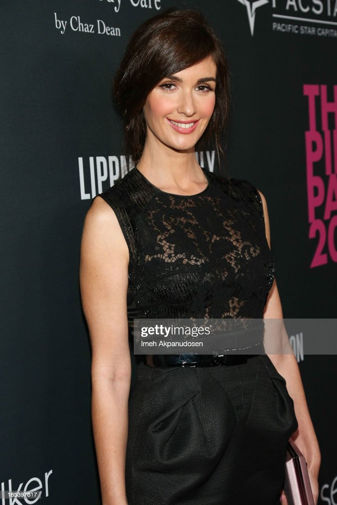 Actress <a gi-track='captionPersonalityLinkClicked' href=/galleries/search?phrase=Paz+Vega&family=editorial&specificpeople=208840 ng-click='$event.stopPropagation()'>Paz Vega</a> attends FIJI Water at the 9th Annual Pink Party Benefiting The Cedars-Sinai Women's Cancer Program at