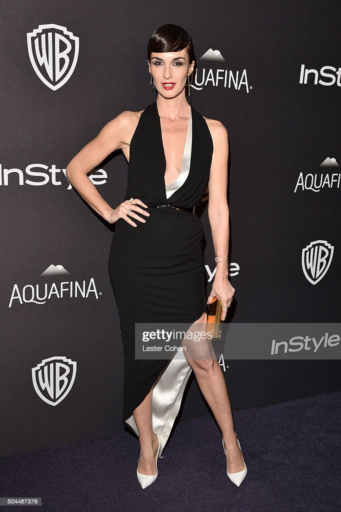 Actress Paz Vega attends InStyle and Warner Bros 73rd Annual Golden Globe Awards PostParty at The Beverly Hilton Hotel on January 10 2016 in Beverly...