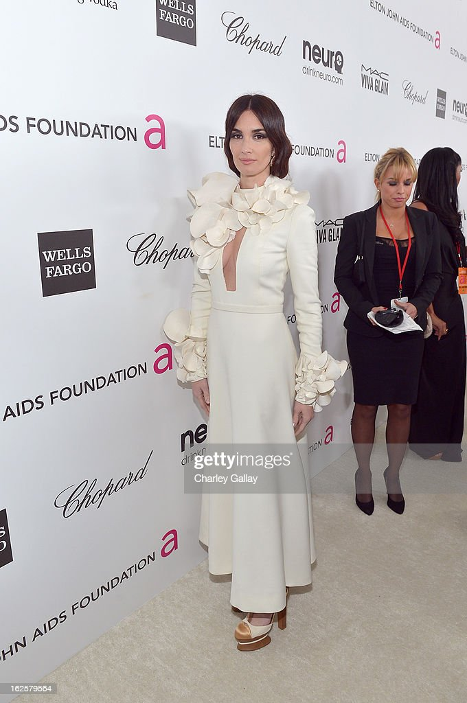 Actress Paz Vega attends Neuro at 21st Annual Elton John AIDS Foundation Academy Awards Viewing Party at West Hollywood Park on February 24, 2013 in West Hollywood, California.