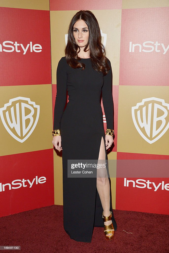 Actress Paz Vega attends the 2013 InStyle and Warner Bros. 70th Annual Golden Globe Awards Post-Party held at the Oasis Courtyard in The Beverly Hilton Hotel on January 13, 2013 in Beverly Hills, California.